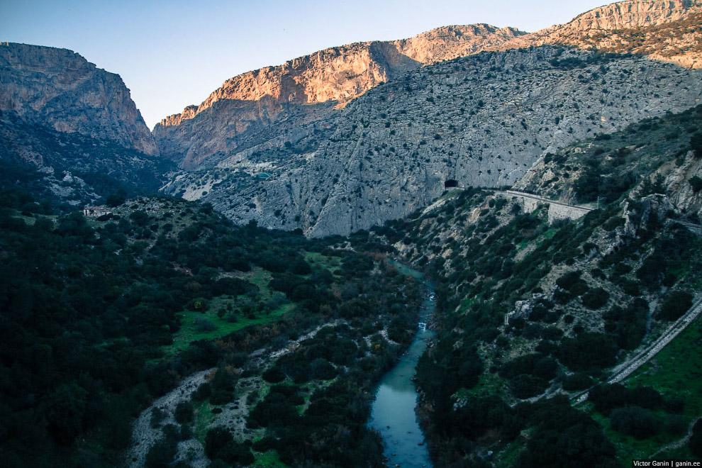 Одна из самых опасных троп в мире — Caminito del Rey