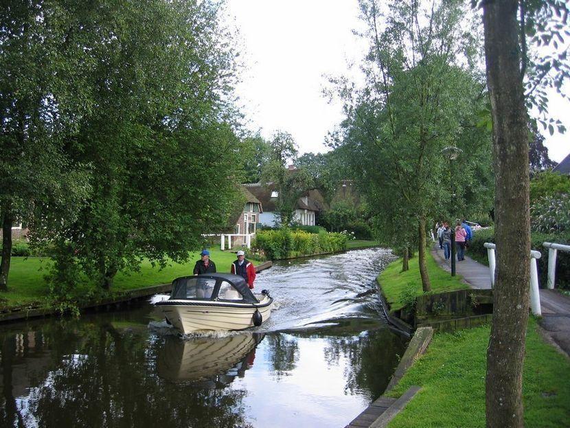11. Деревня Гитхорн была основана в 1230 году небольшой группой беженцев с юга страны. Когда они наш