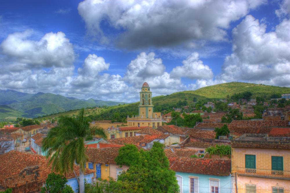 Город-музей под открытым небом Тринидад.