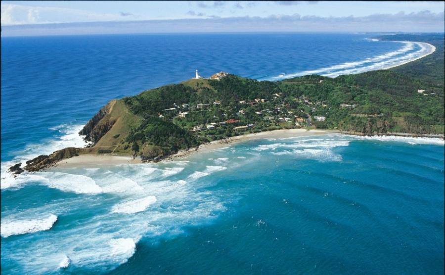 Небольшой австралийский курортный городок Байрон-Бэй— райское место, откуда открываются потрясающие