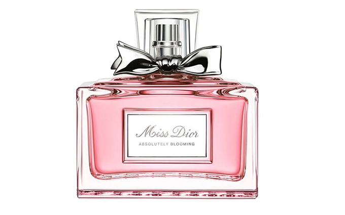 Натали Портман в рекламе Miss Dior