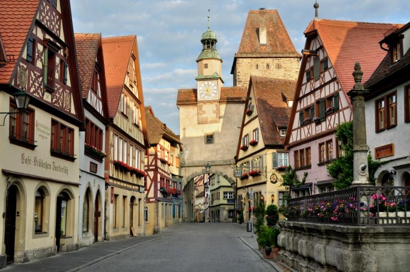 Самые красивые деревни и маленькие города Европы: Ротенбург об дер Таубер, Германия