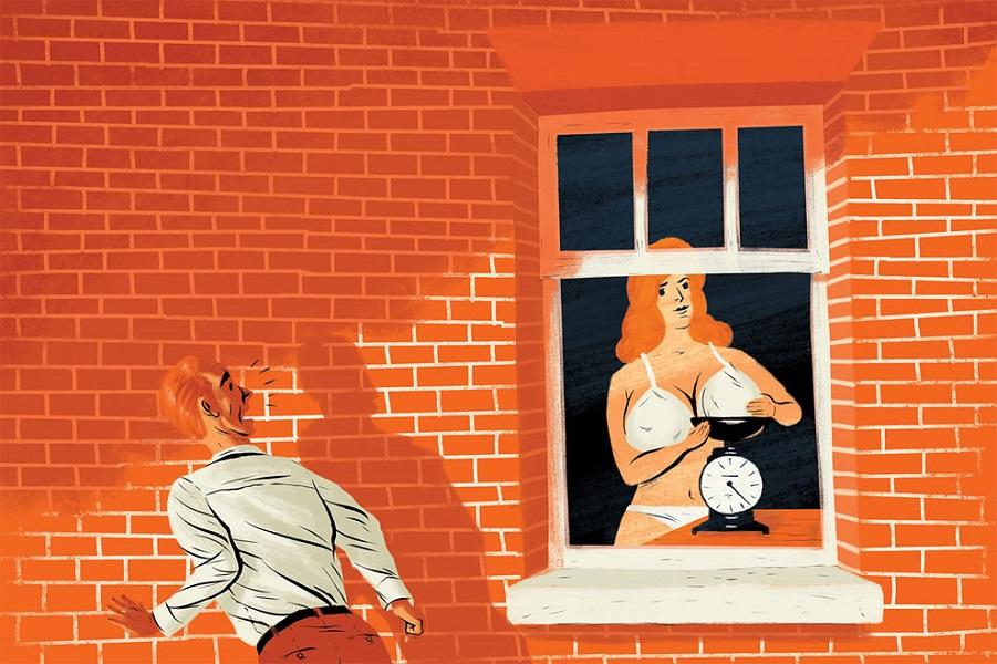«Я видел, как леди взвешивала сиськи». Увиденное сквозь окно