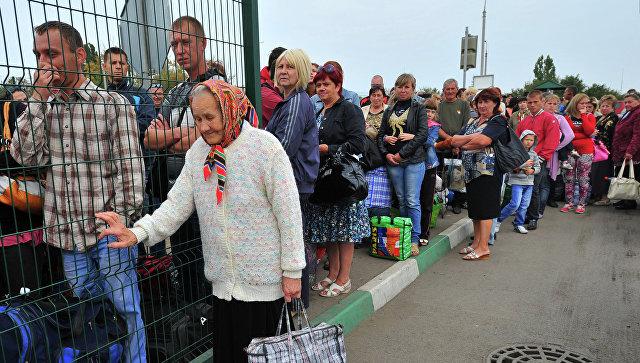 РФ приняла свыше 1 млн беженцев сУкраины— МИД