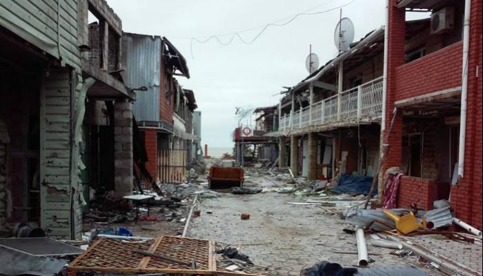 Руины Широкино показали в360-градусном видео