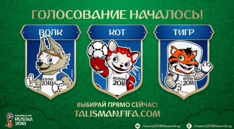 Дети выбрали талисман ЧМ-2018 в Российской Федерации
