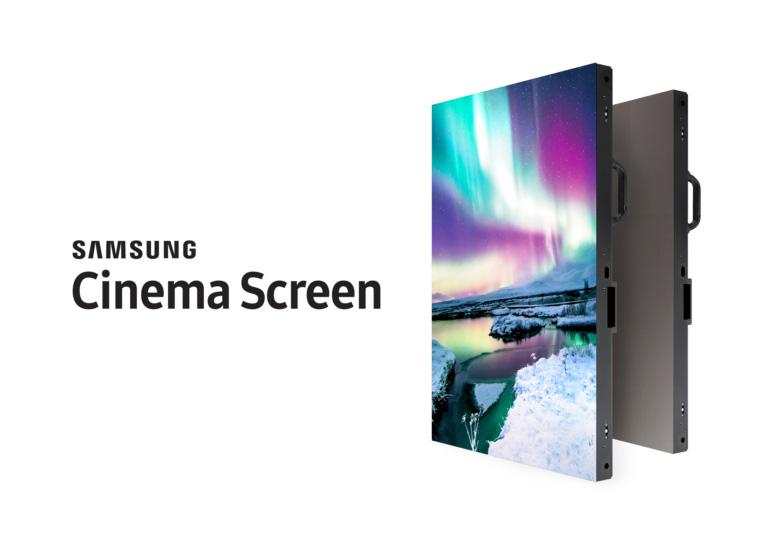 Самсунг представила немалый QLED-экран для кинотеатров