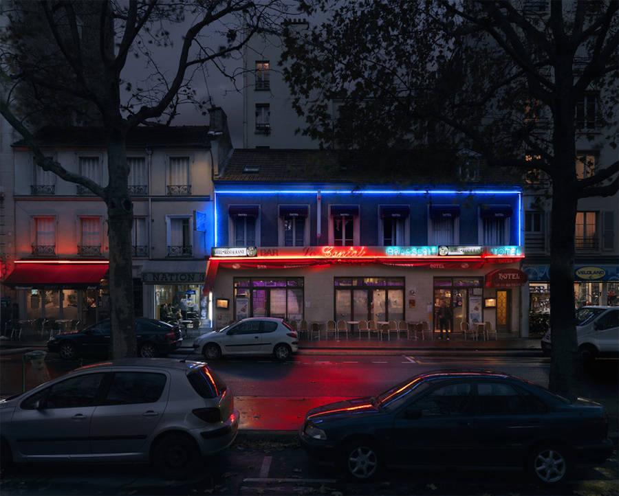 Le Cantal, boulevard de Charonne, Paris XX.