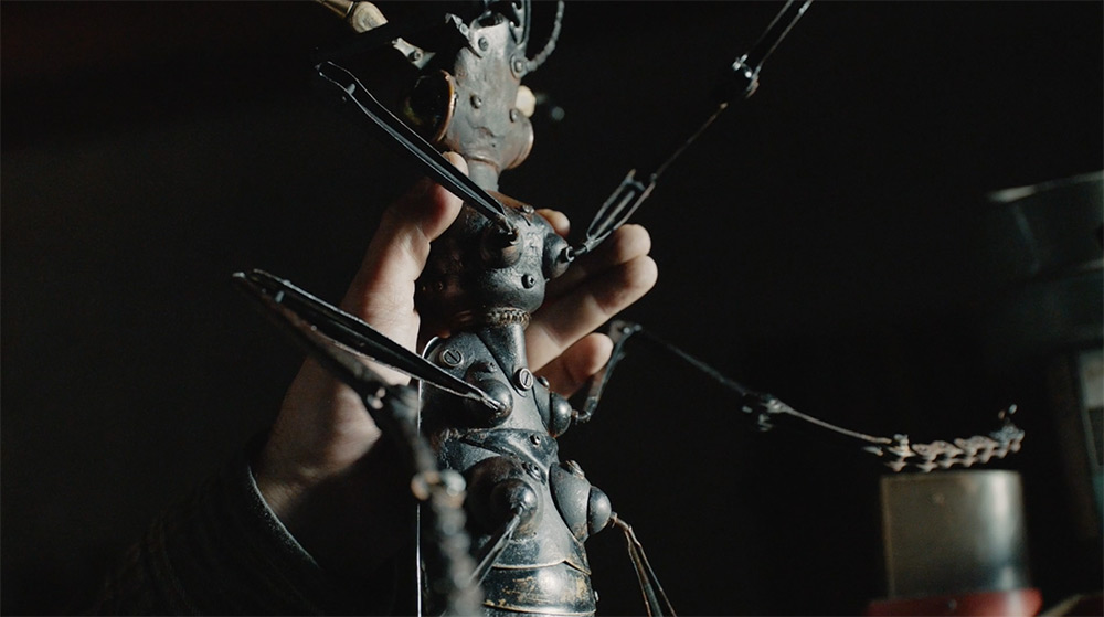 Take a Peek Inside the Studio of Insectophile Sculptor Edouard Martinet