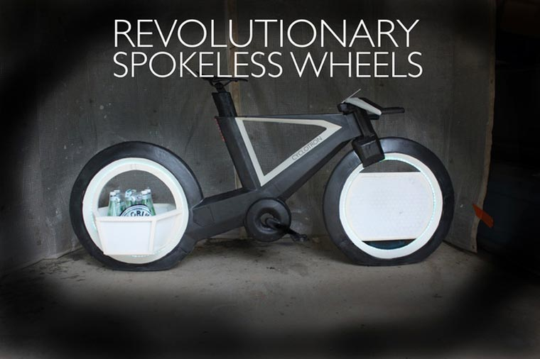 Cyclotron Bike - A futuristic and revolutionary bike on Kickstarter
