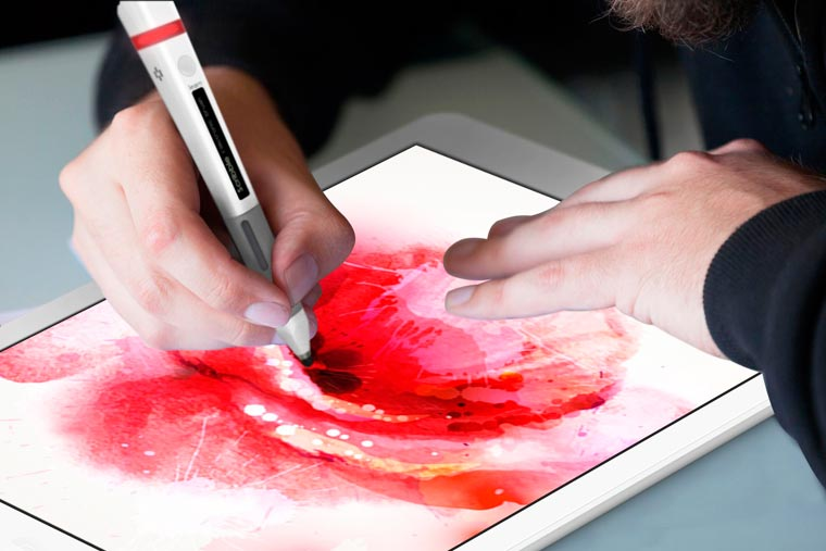 Scribble Pen - The connected pen that can scan and reproduce every color is back