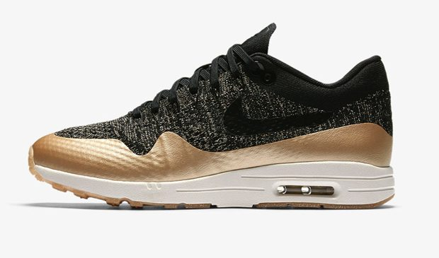 NIKE AIR MAX 1 ULTRA 2.0 FLYKNIT METALLIC Nike Air MAX 1 Ultra 2.0 FlyKnit Metallic was built with 4