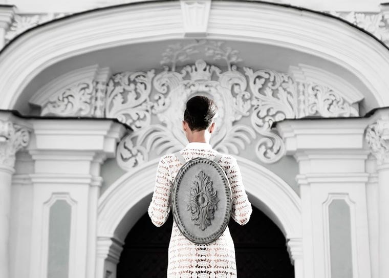 Baroque Backpack - Some backpacks inspired by baroque architecture