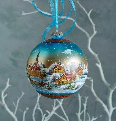 Красивые новогодние шары