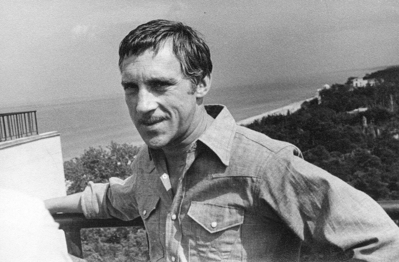 Карел Готт, Владимир Высоцкий, Олег Марусев. Дубулты, 6 августа 1972 года.