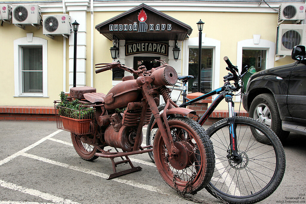 Мотоцикл у Кочегарки