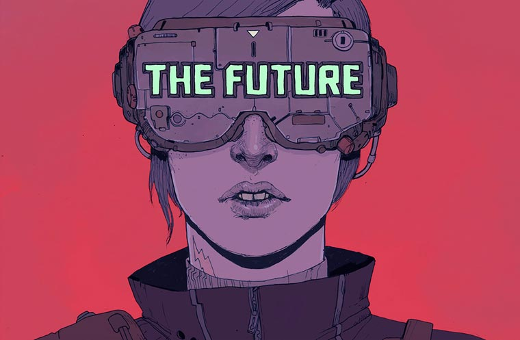 The Future is Now - The beautiful dystopian illustrations by Josan Gonzalez