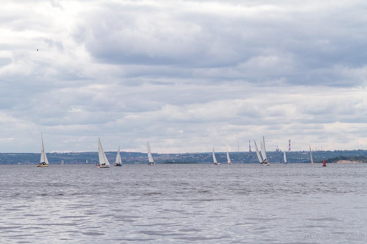 Яхты на Волге 14