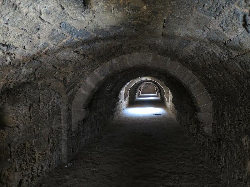 Фамагуста. Крепость. Туннель вдоль южной стены