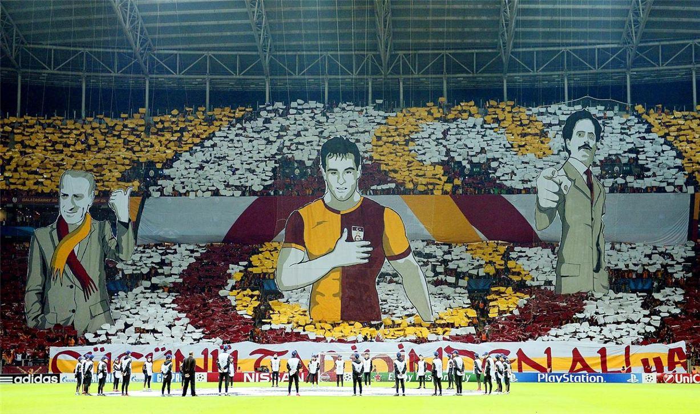 Soccer tifos / Гигантские баннеры футбольных болельщиков со со стадионов по всему миру - Galatasaray