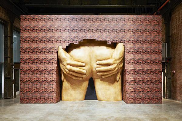 "Anthea Hamilton, from exhibition ""Lichen! Libido! Chastity!"", 2015 © Anthea Hamilton"