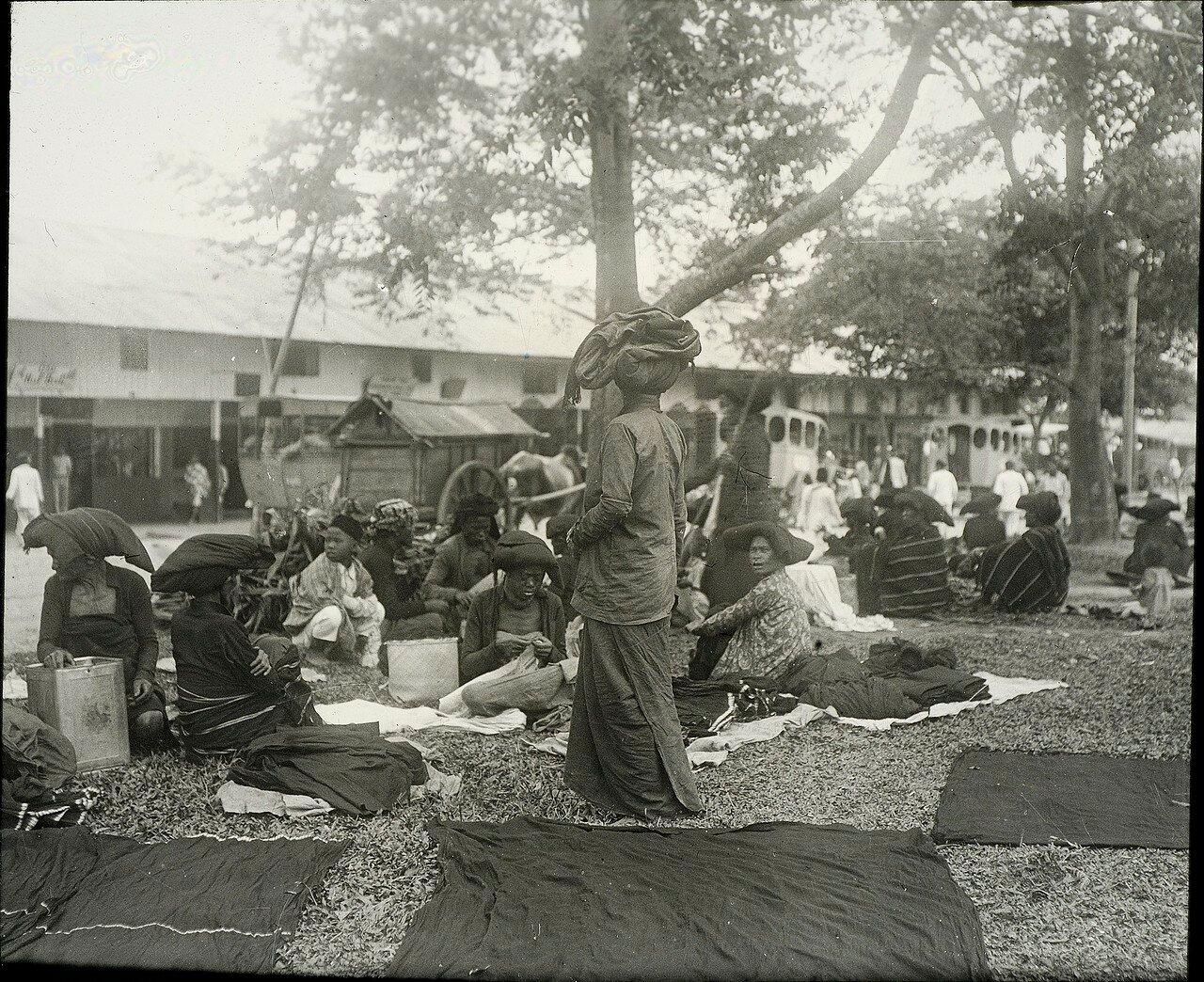 Кабанджахе. Рынок
