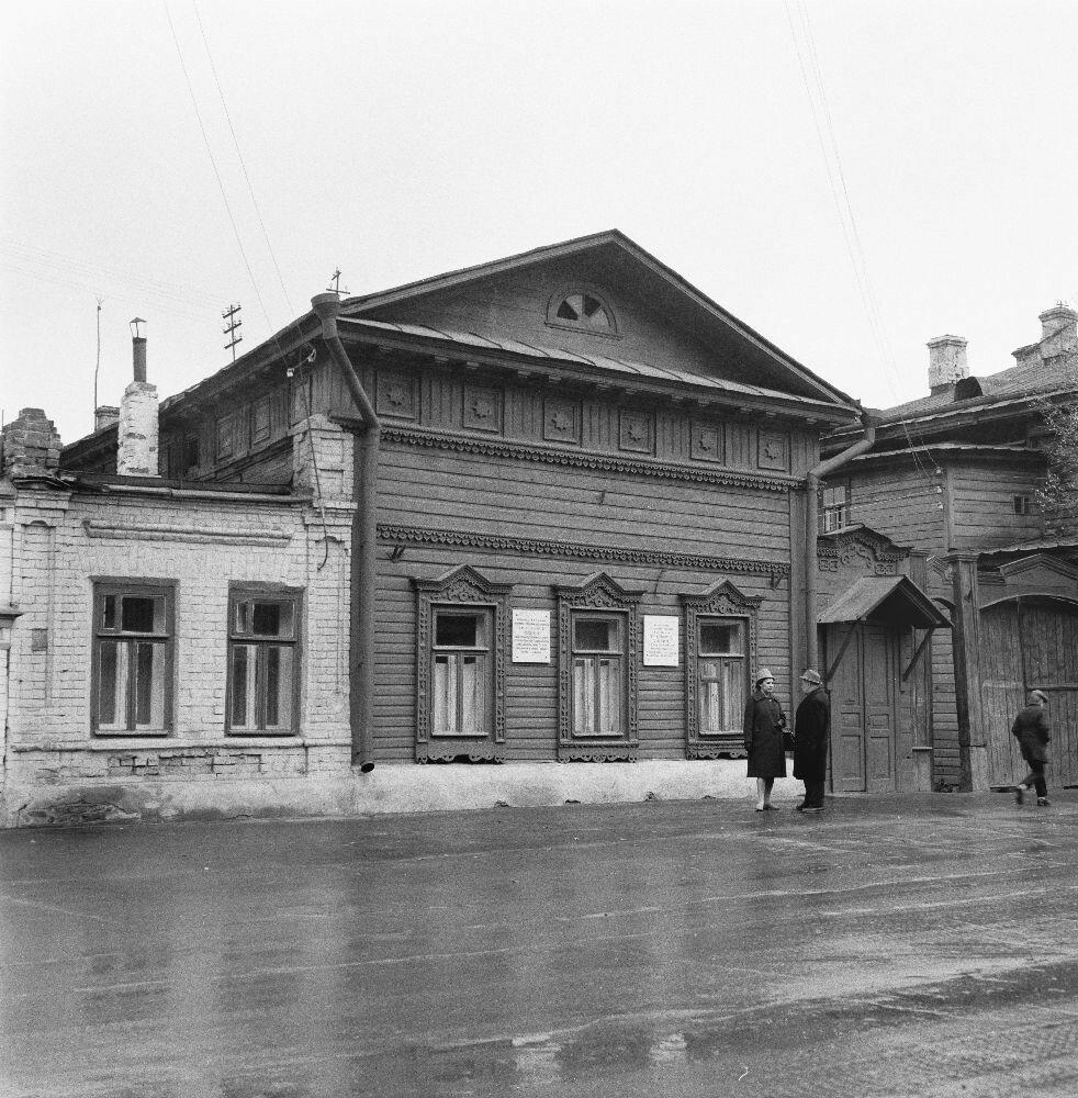 Казань. Улица Комлева