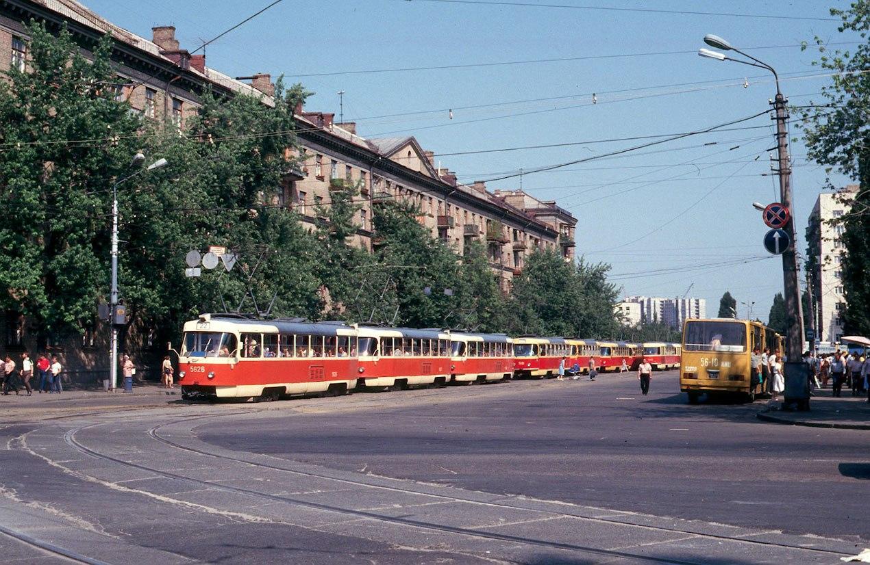 1987. Киев. Ленинградская площадь