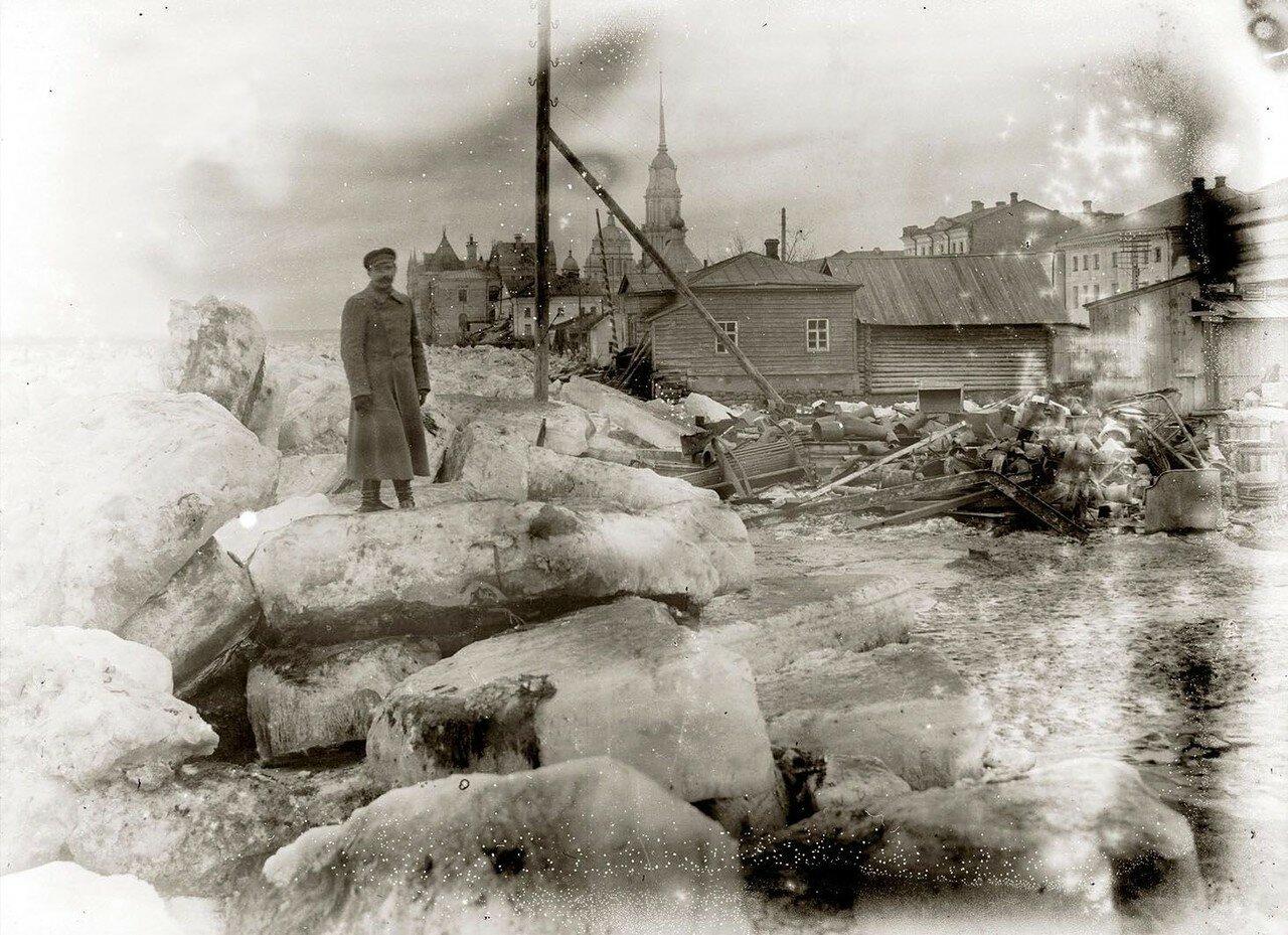 Наводнение в Рыбинске 1915 года.
