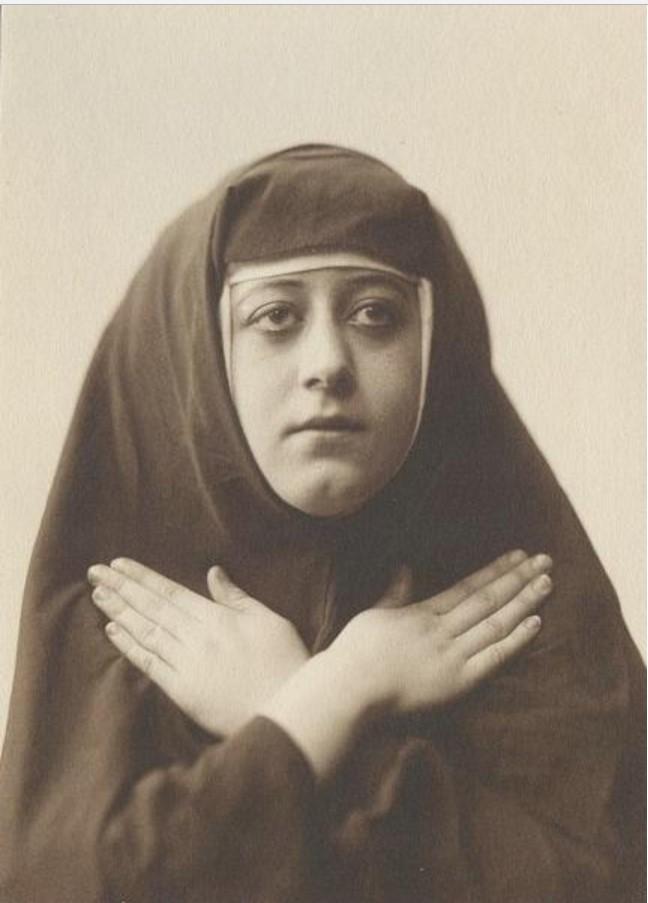 1930-е. Женский портрет. Монахиня