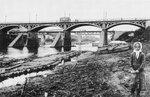 Старый (деревянный) мост. 1900-е