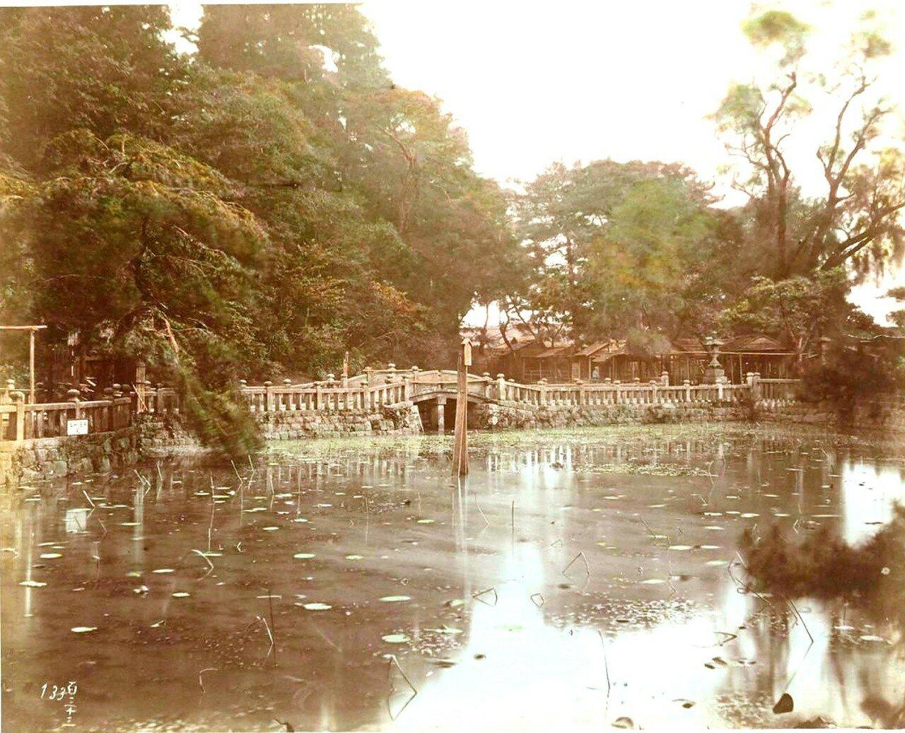 Токио. Буддийский храм Зойойи в парке Сиба