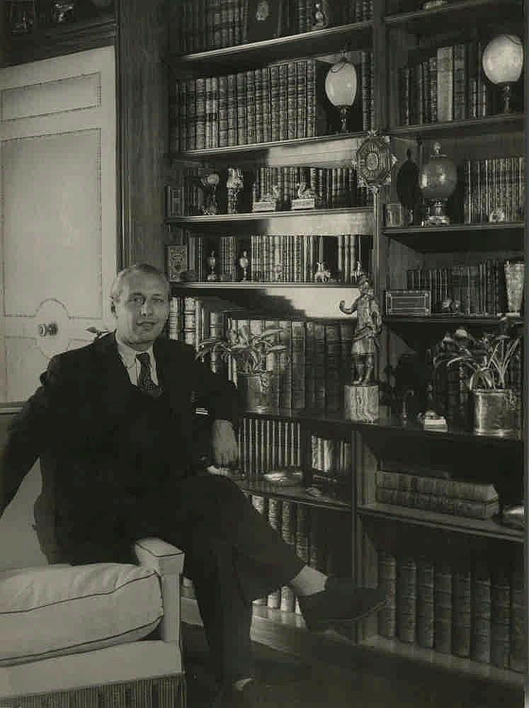 1950. Коллекционер. Улица Фобур Сен-Жак, 81