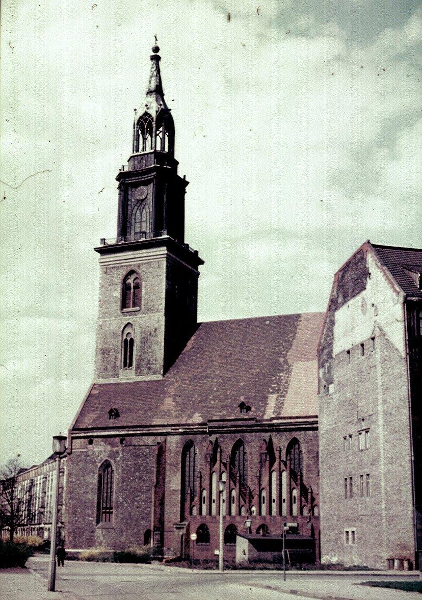 Берлин. Церковь Святой Марии