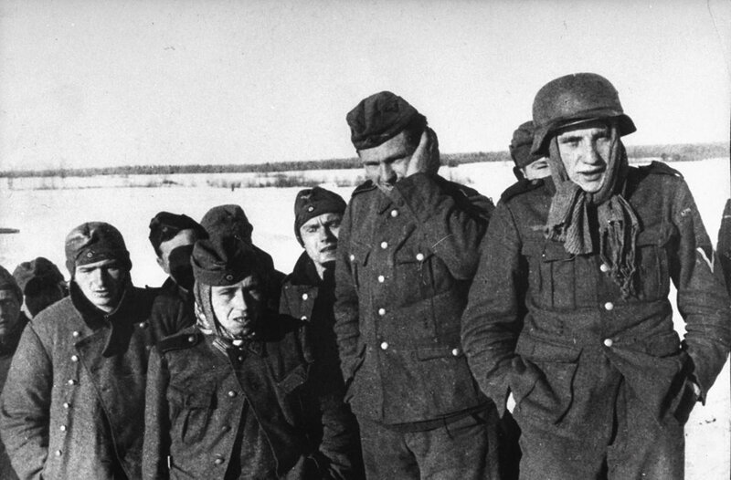 немецкий солдат, фриц, пленные немцы, военнопленные, как немцы мерзли от морозов, немцы в советском плену