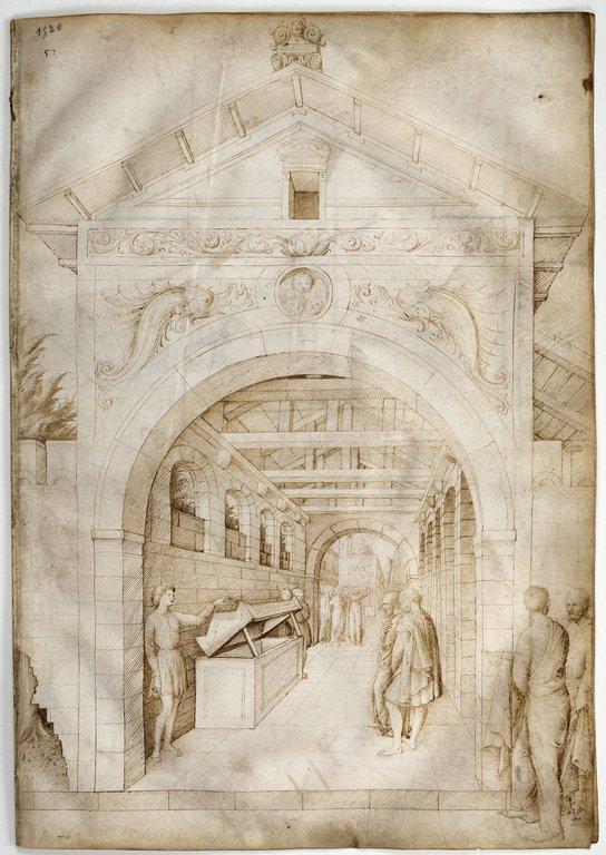 Scиne d'affliction devant le tombeau du Christ, le matin de Pвques