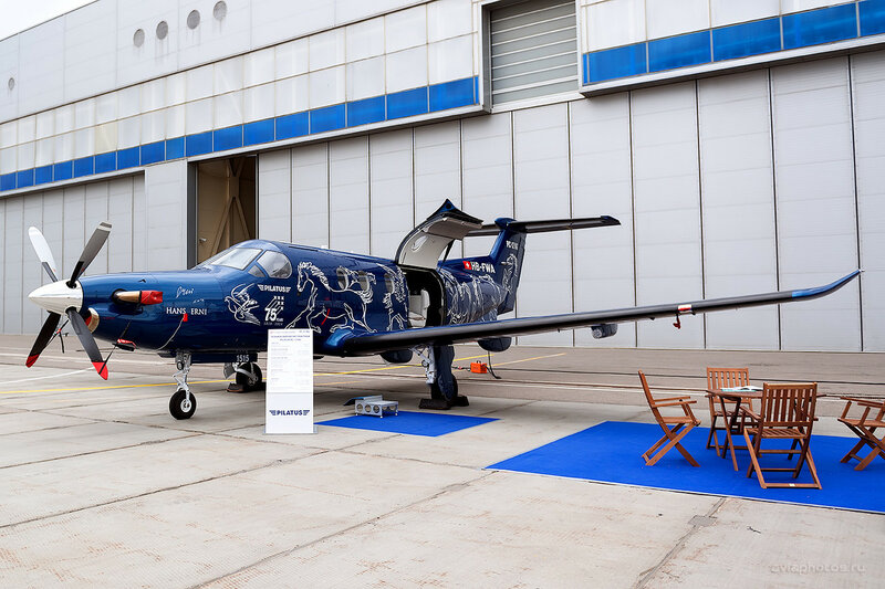 Pilatus PC-12/47E (HB-FWA) Pilatus Aircraft D800851