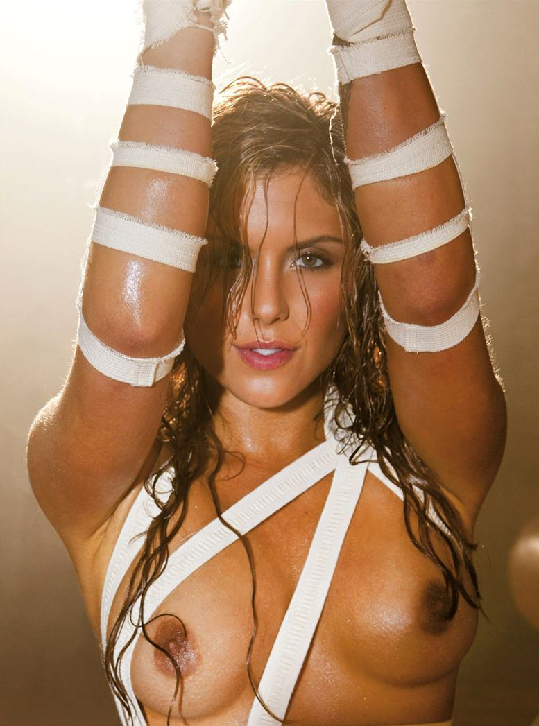 Brittney Palmer (UFC) - Playboy USA march 2012