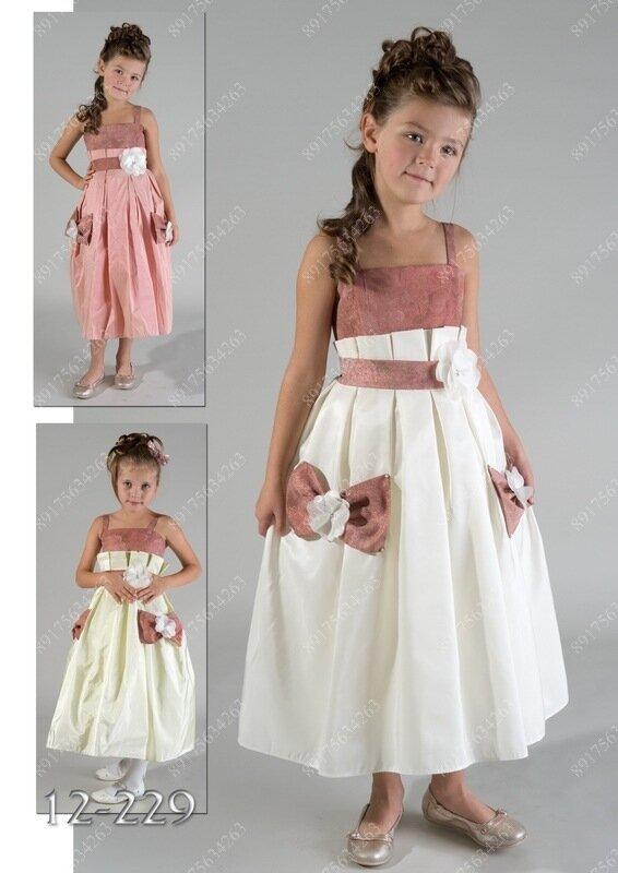 Детские бальные платья картинки 6