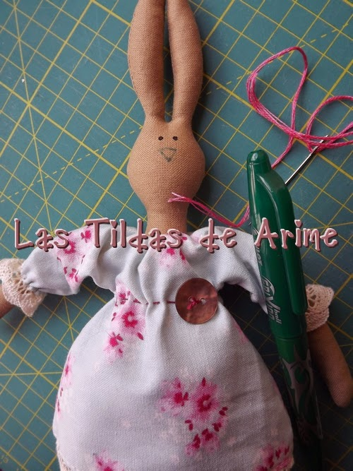 Мастер-класс по пошиву зайца тильды