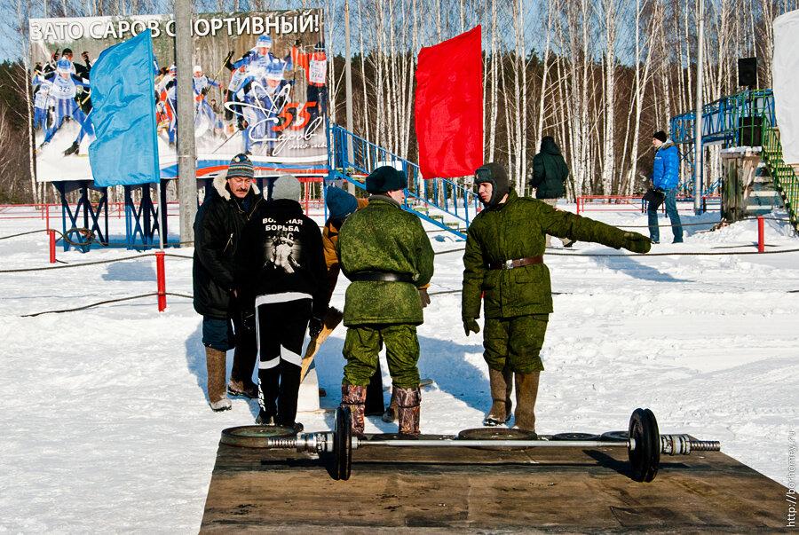 солдаты саров