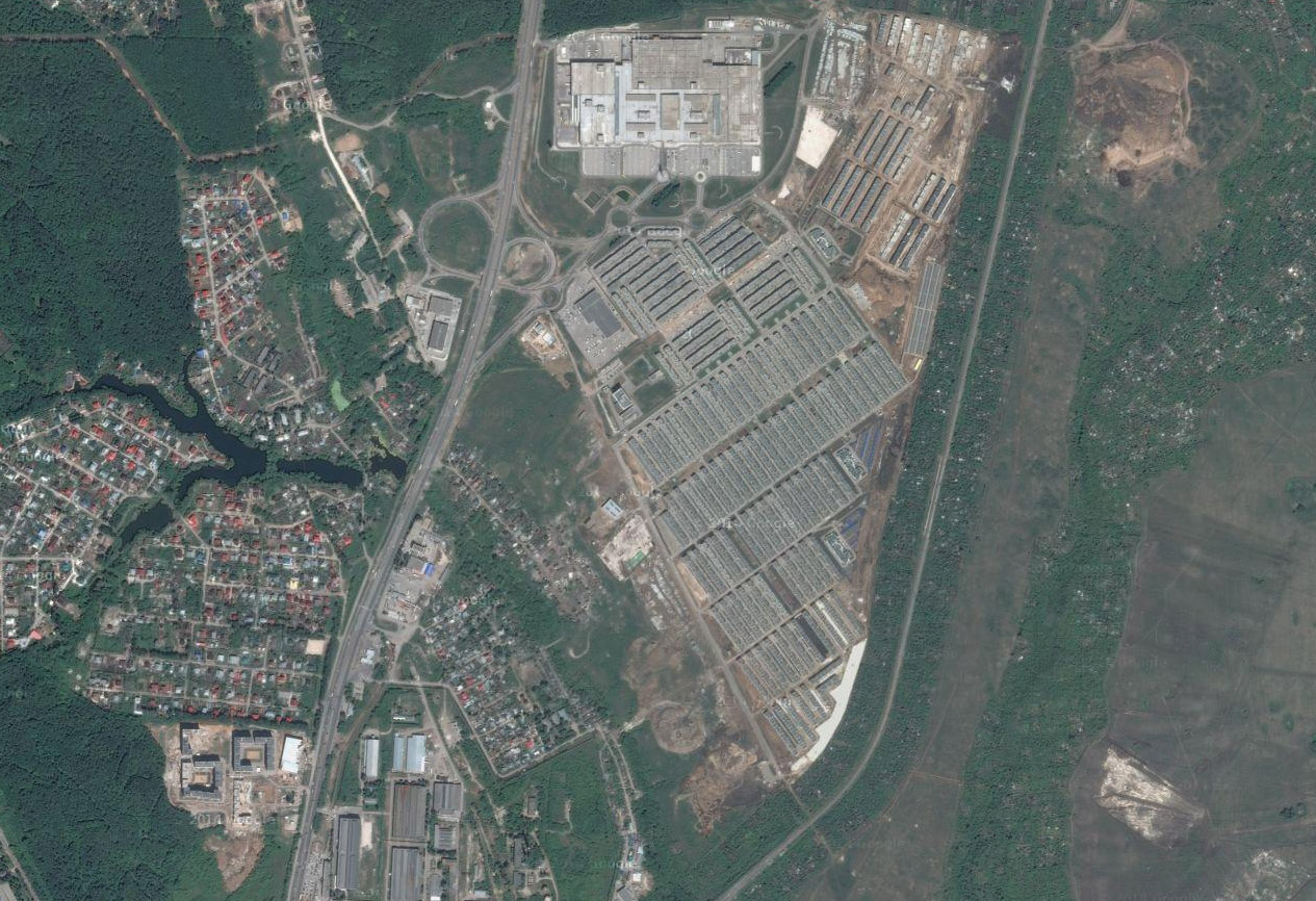 старые спутниковые снимки google maps