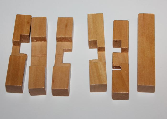 Деревянная головоломка Skill Up Крест