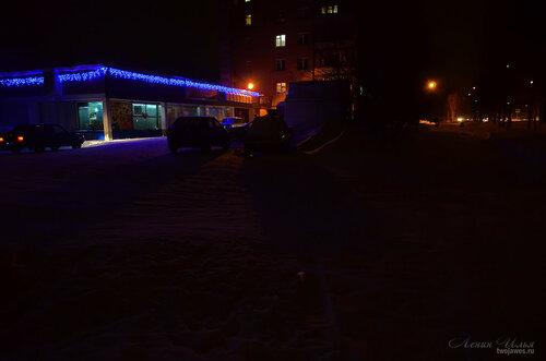 Фото города Инта №7345  Юго-западный  угол Куратова 22 23.12.2014_17:18