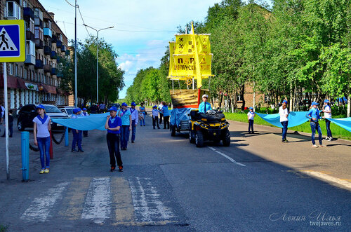 Фотография Инты №7723  Улица Бабушкина в сторону улицы Мира 21.06.2015_12:56