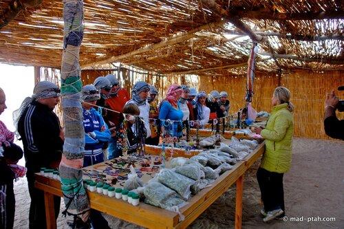 египет, бедуинская деревня
