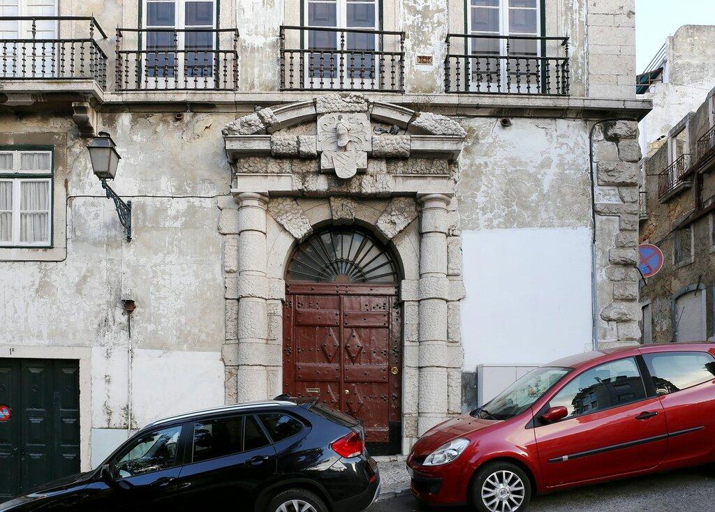 Lisbon. Largo Rodrigues de Freitas