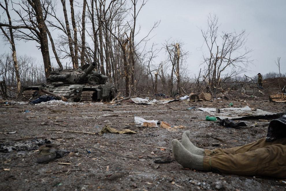 10. Украинская бронетехника. (Фото Gleb Garanich | Reuters):