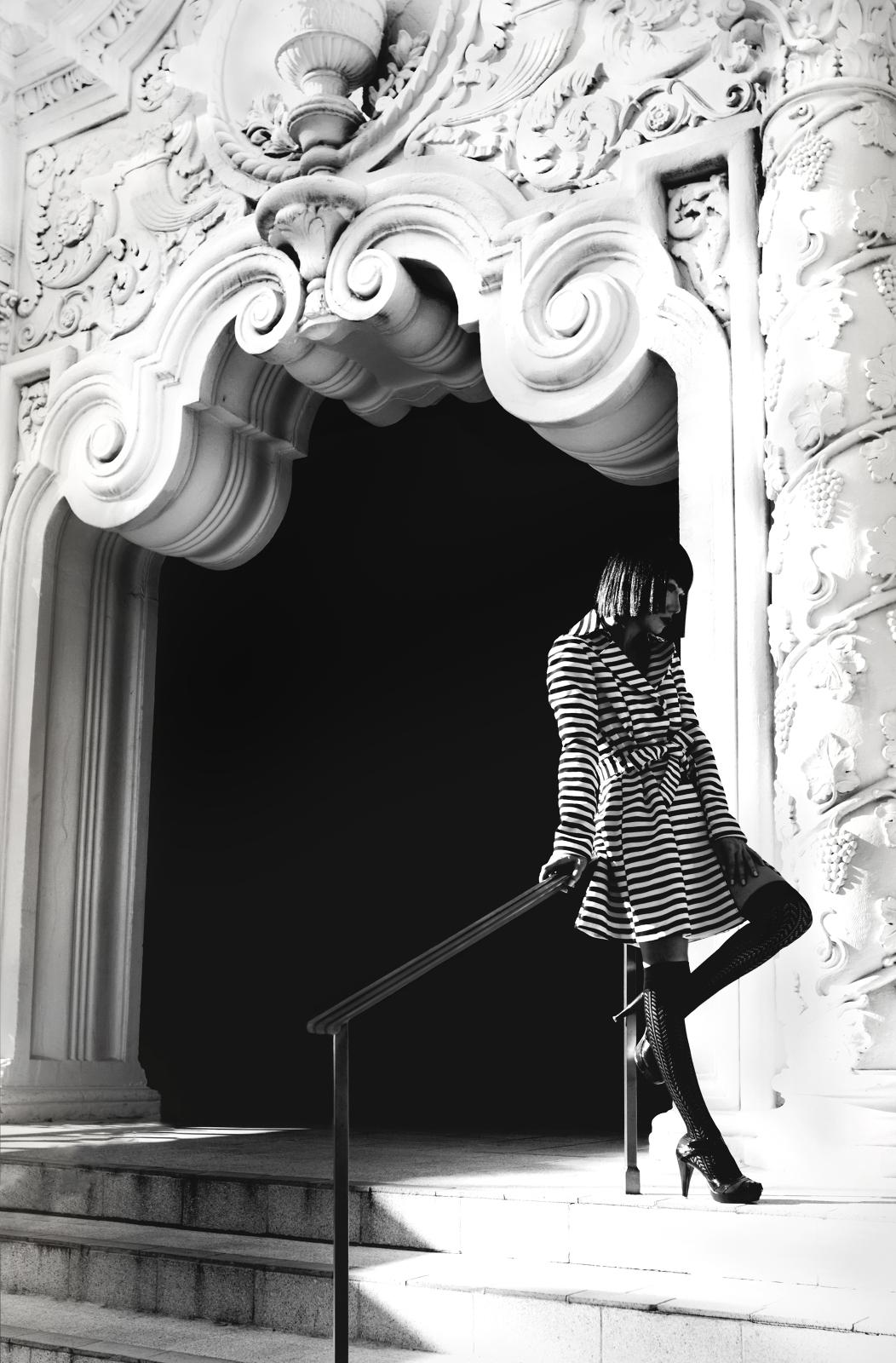 Черно-белые фотографии Фокс Гарвард