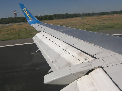 2015-07-02  Boing 737  - момент посадки